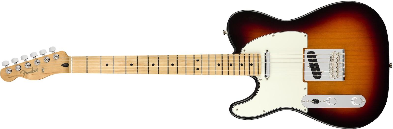 【新品】Fender Player Telecaster Left-Handed Maple Fingerboard ~3-Color Sunburst~ 【お取り寄せ】【送料無料】【池袋店】