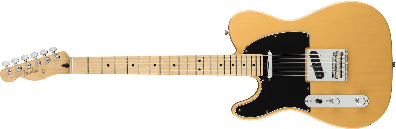 【新品】Fender Player Telecaster Left-Handed Maple Fingerboard ~Butterscotch Blonde~ 【お取り寄せ】【送料無料】【池袋店】