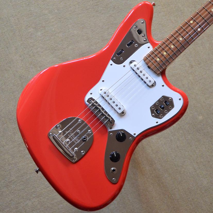 【新品】Fender Classic '60s Jaguar Lacquer ~Fiesta Red~ #MX17888185 【3.72kg】【ラッカーフィニッシュ】【正規輸入品】【送料無料】 【池袋店在庫品】