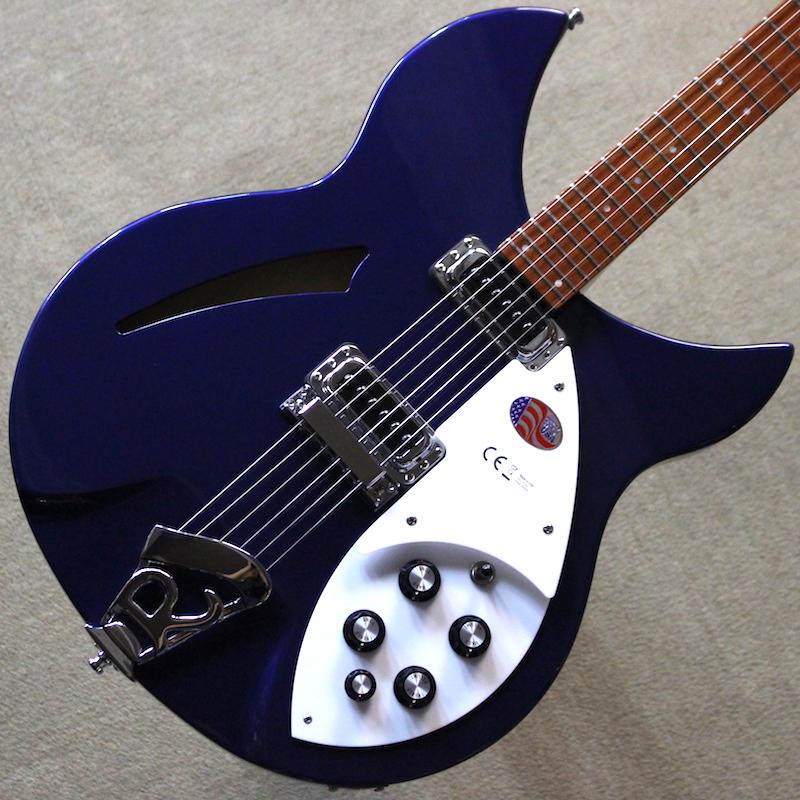 【新品】Rickenbacker 330 Midnight Blue #1817763 【3.47kg】【リッケンバッカーストラッププレゼント】【送料無料】【池袋店在庫品】