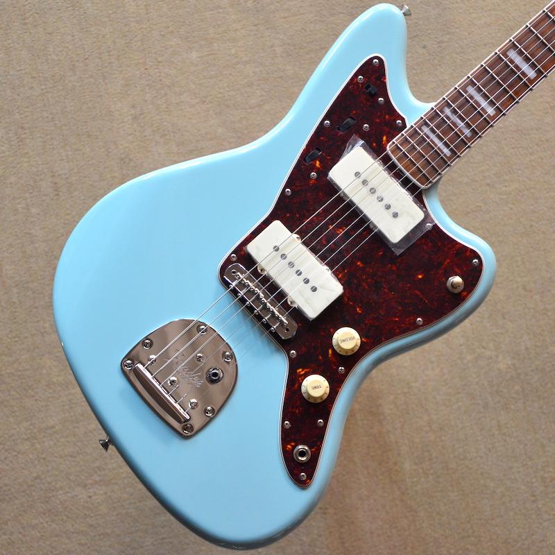 【新品】Fender Limited Edition 60th Anniversary Classic Jazzmaster ~Daphne Blue~ #MX18053537 【3.55kg】【ラッカーフィニッシュ】【ハードケース付】【限定モデル】【送料無料】【池袋店在庫品】