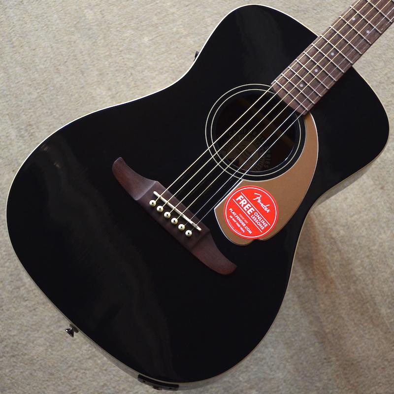 【新品】Fender Malibu Player ~Jetty Black~ #CSL17003875 【1.80kg】【エレアコ】【パーラーサイズ】【送料無料】【池袋店在庫品】