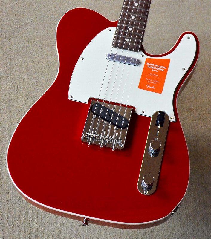 〔新品〕 Fender Made in Japan MIJ Traditional 60s Telecaster Custom Torino Red【池袋店在庫品】