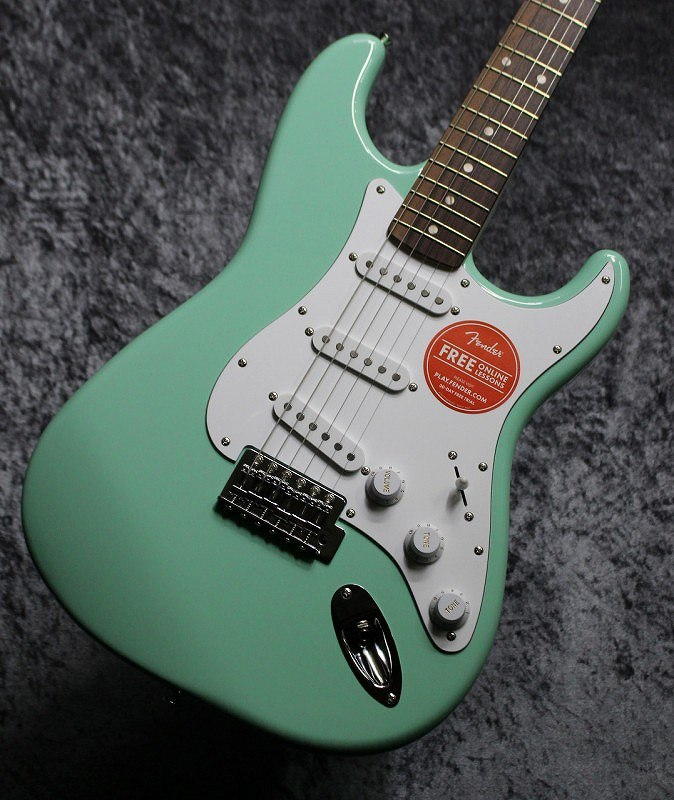 〔新品〕 Squier by Fender Affinity Series Stratocaster Surf Green 【池袋店在庫品】