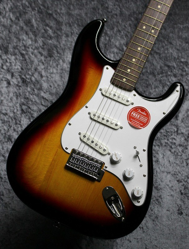 〔新品〕 Squier by Fender Vintage Modified Stratocaster 3-Color Sunburst 【池袋店在庫品】