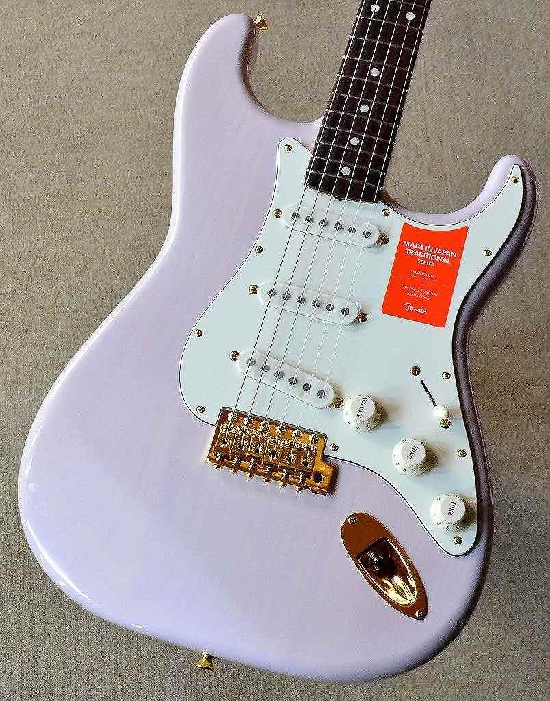 〔新品〕 Fender Made in Japan MIJ Traditional 60s Stratocaster Gold Hardware US Blonde 【池袋店在庫品】
