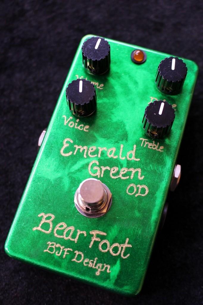 BearFoot Emerald Green OD 【送料無料】【即納可能】【AC30系OD】【池袋店在庫品】