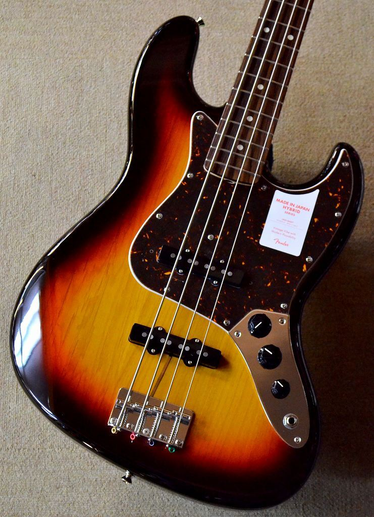 Fender Japan Hybrid 60s Jazz Bass 3TS【池袋店在庫品】