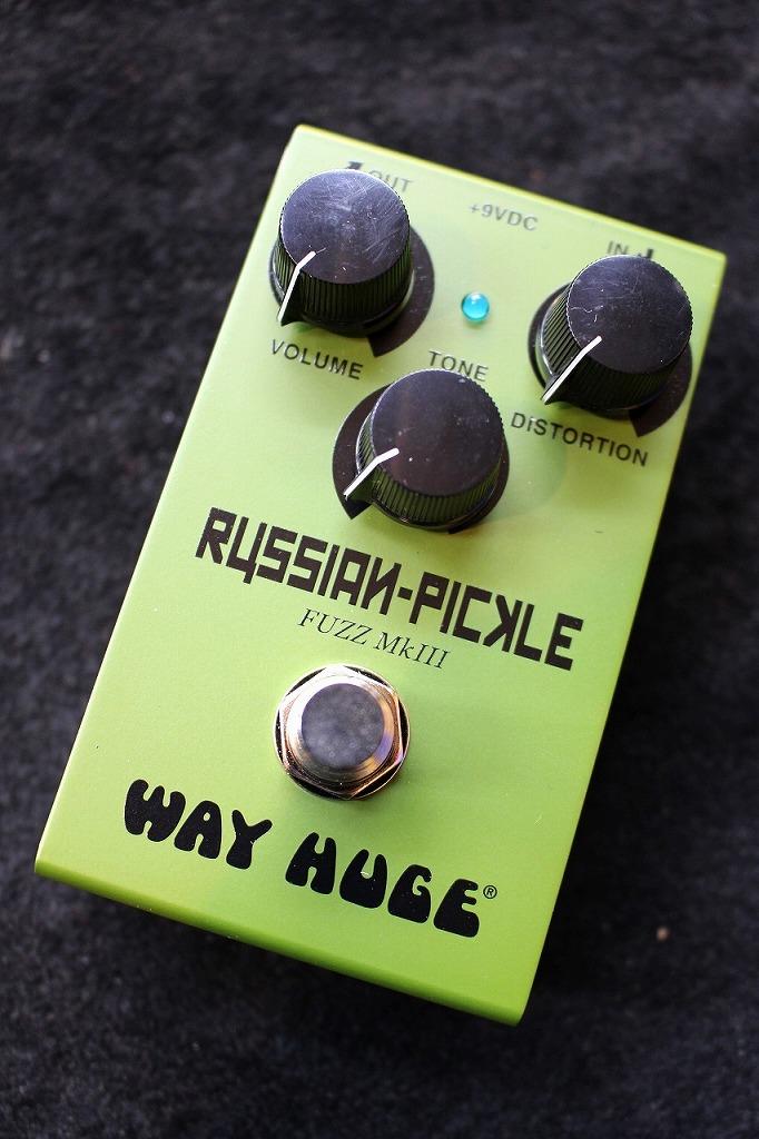 Way Huge WM42 Smalls Russian Pickle Fuzz 【即納可能】【送料無料】【ロシアンビックマフ系】【池袋店在庫品】