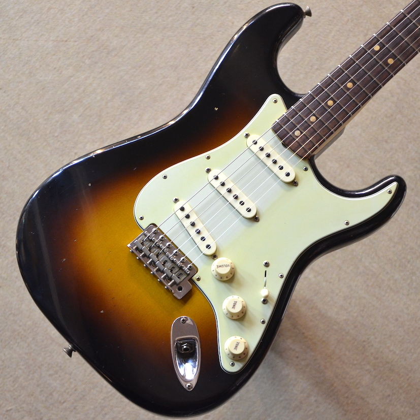 【新品】Fender Custom Shop Custom Built 1963 Stratocaster Journeyman Relic ~Wide Black 2-Tone Sunburst~ #R90478 【3.49kg】【池袋店在庫品】