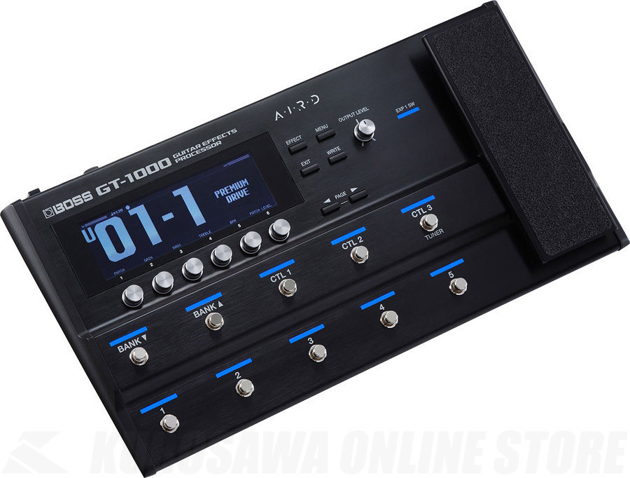 BOSS GT-1000 Guitar Effects Processor 【次回入荷品ご予約受付中】【送料無料】【池袋店在庫品】