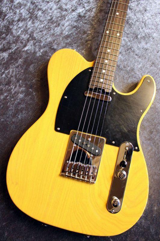 SCHECTER N-PT-AS Butter Scotch Blonde/Rosewood #160220 【Xotic共同開発P.U搭載】【Ashボディー】【池袋店在庫品】