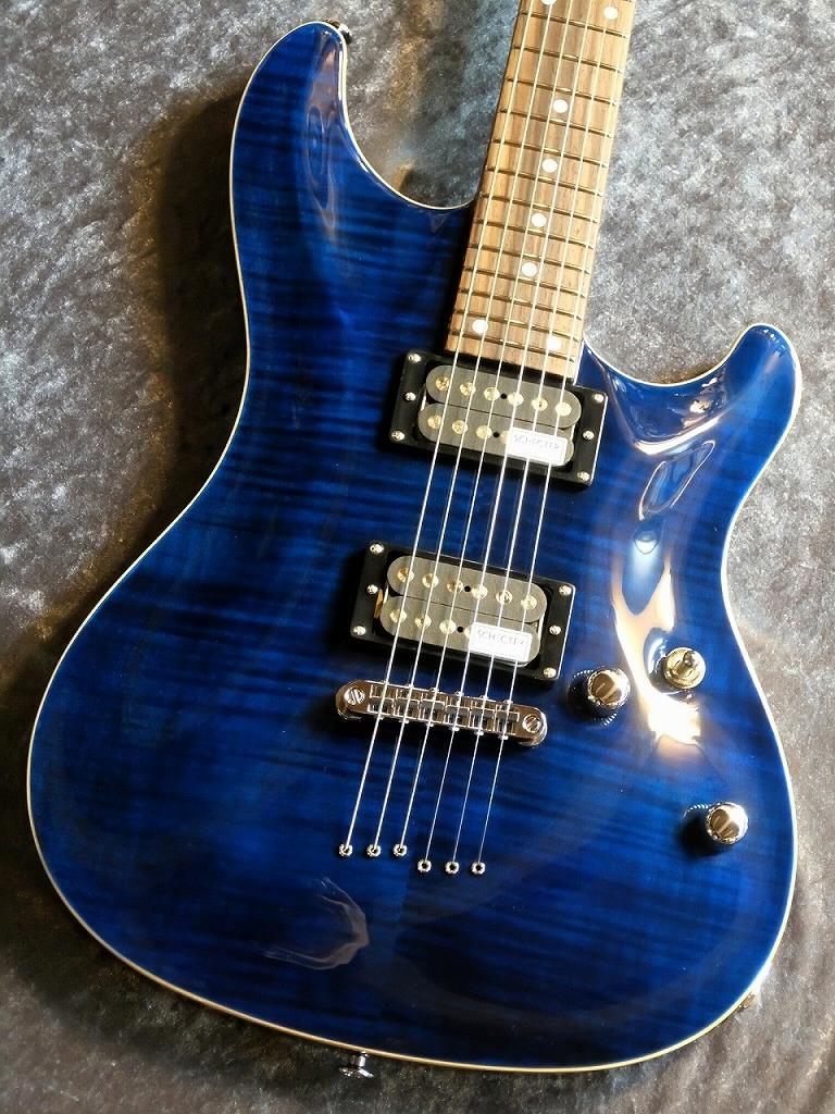 SCHECTER RJ-1-24-TOM Blue/Rosewood #1606080 【良杢個体】【初心者にもおすすめ!!】【池袋店在庫品】