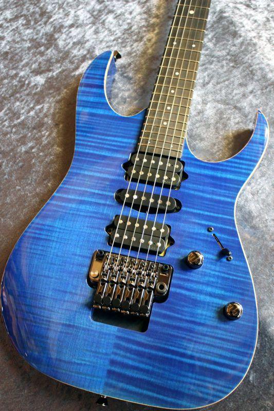 Ibanez j-Custom Series RG7570Z Royal Blue Sapphire #F1733005 【エボニー指板】【良杢個体】【池袋店在庫品】
