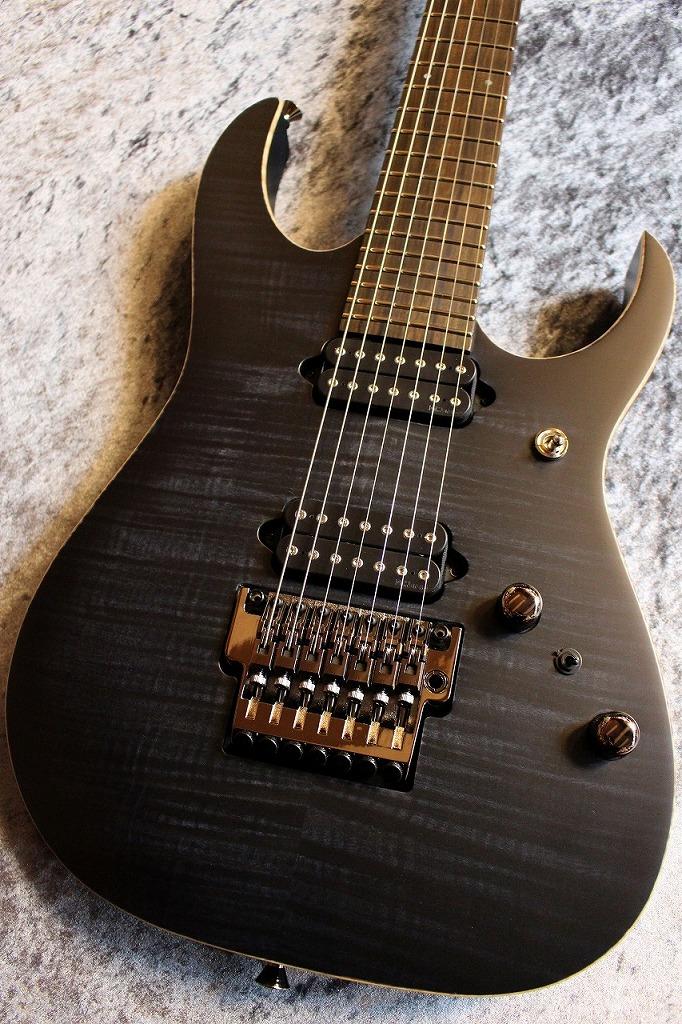 Ibanez j-Custom Series RG7527 Black Rutile Flat #F1730803 【良杢個体】【サテンフィニッシュ】【池袋店在庫品】