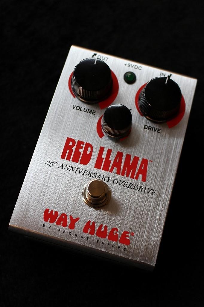Way Huge WHE206 RED LLAMA 25TH ANNIVERSARY OVERDRIVE 【即納可能】【送料無料】【国内入荷44台】【池袋店在庫品】