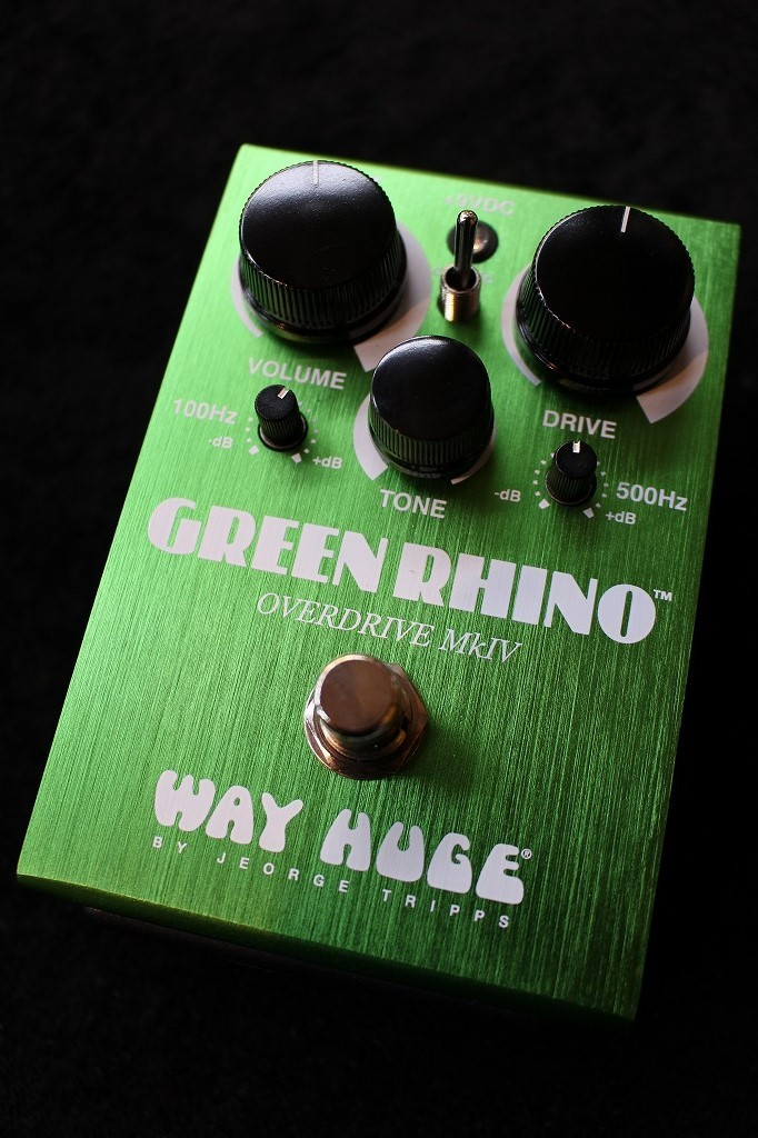 Way Huge GREEN RHINO OVERDRIVE MK IV WHE207 【即納可能】【送料無料】【TS系OD】【池袋店在庫品】