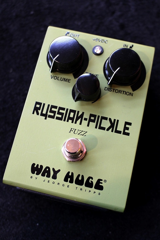 Way Huge Russian Pickle Fuzz WHE408 【即納可能】【送料無料】【ロシアンビックマフ系】【池袋店在庫品】