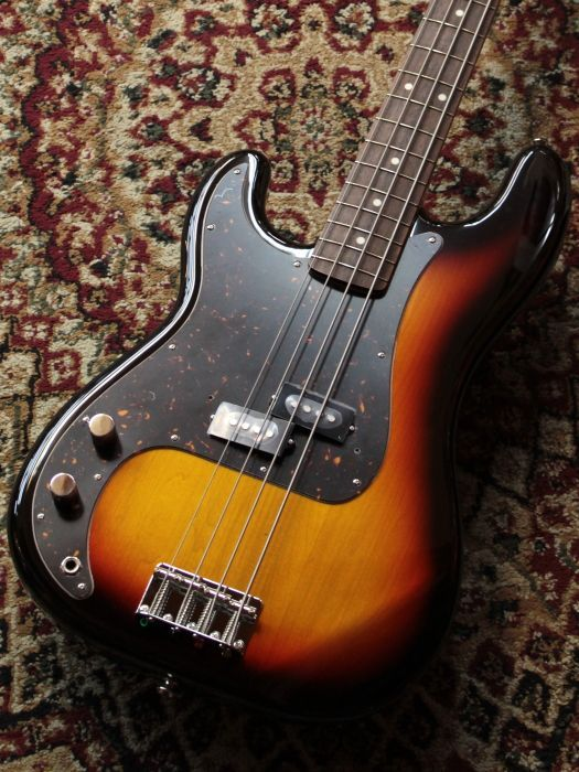 Fender Japan Classic 60s Precision Bass LH 3TS 【レフティ】【アウトレット特価】 【B級特価】【池袋店在庫品】