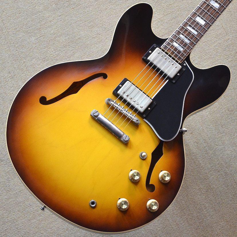 【新品アウトレット】Gibson Memphis 1963 ES-335 TD 2016 ~Historic Burst~ #61959 【3.50kg】【傷アリアウトレット】【池袋店在庫品】