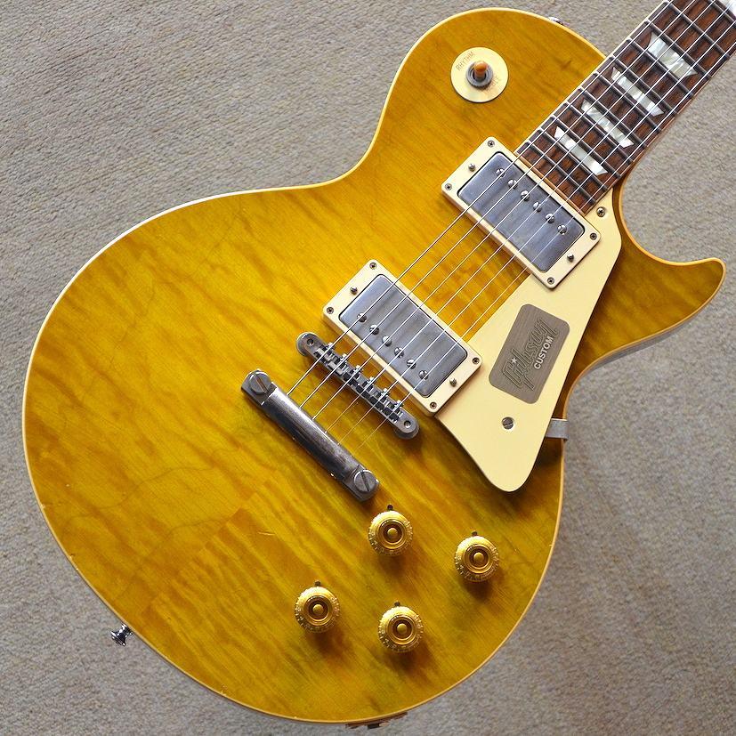 【新品】Gibson Custom Shop True Historic 1959 Les Paul Reissue Murphy Aged ~Vintage Lemon Burst~ #96390 【3.89kg】【送料無料】【池袋店在庫品】
