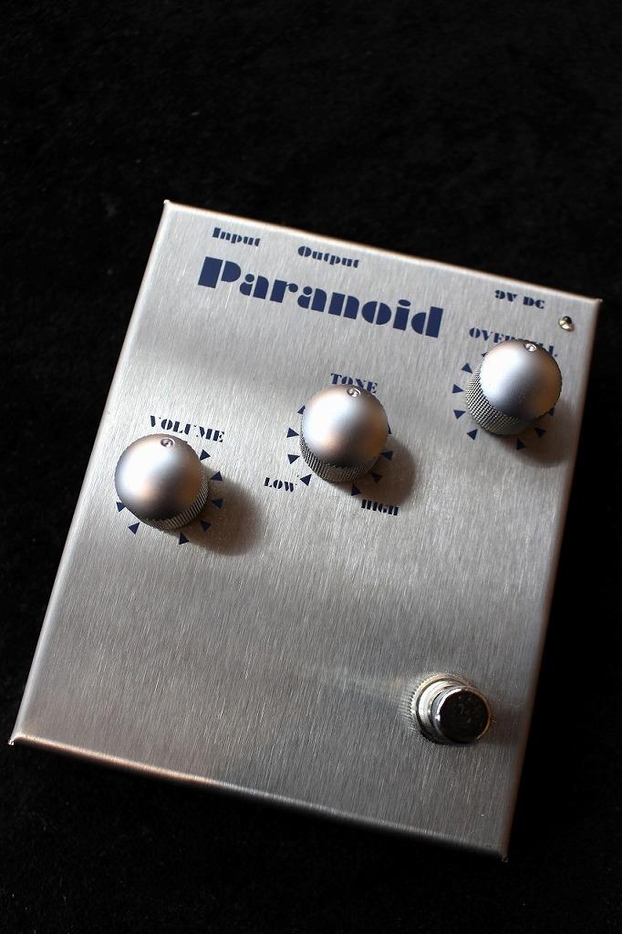 Musician Sound Design Paranoid 【送料無料】【即納可能】【ファズ】【ドイツ製ハンドメイド】 【新品】【池袋店在庫品】