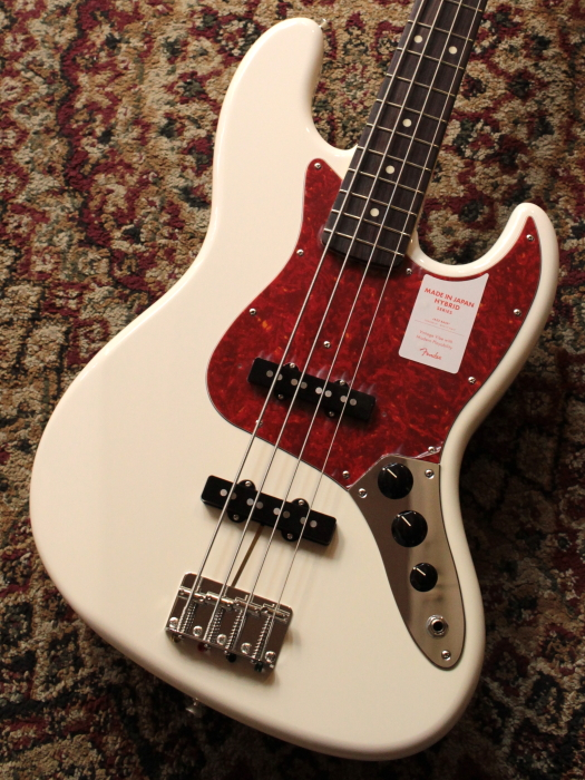 Fender Japan Hybrid 60s Jazz Bass Arctic White 【池袋店在庫品】