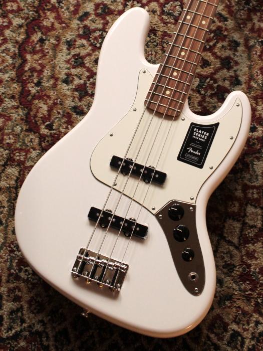 【新品】Fender Player Jazz Bass Polar White /Pau Ferro(PW)【送料無料】【池袋店在庫品】