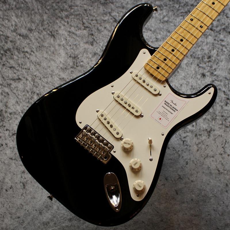 Fender【2020年最新スペック】Made in Japan Traditional 50s Stratocaster Black #JD20001951【3.38kg】【池袋店在庫品】