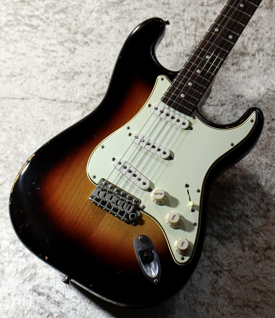 J.W.Black Guitars JWB-JP-S ALD/Rose 3Tone Sunburst Soft Aged #190027 【USA製同様スペック】【極杢ネック】【池袋店取扱品】