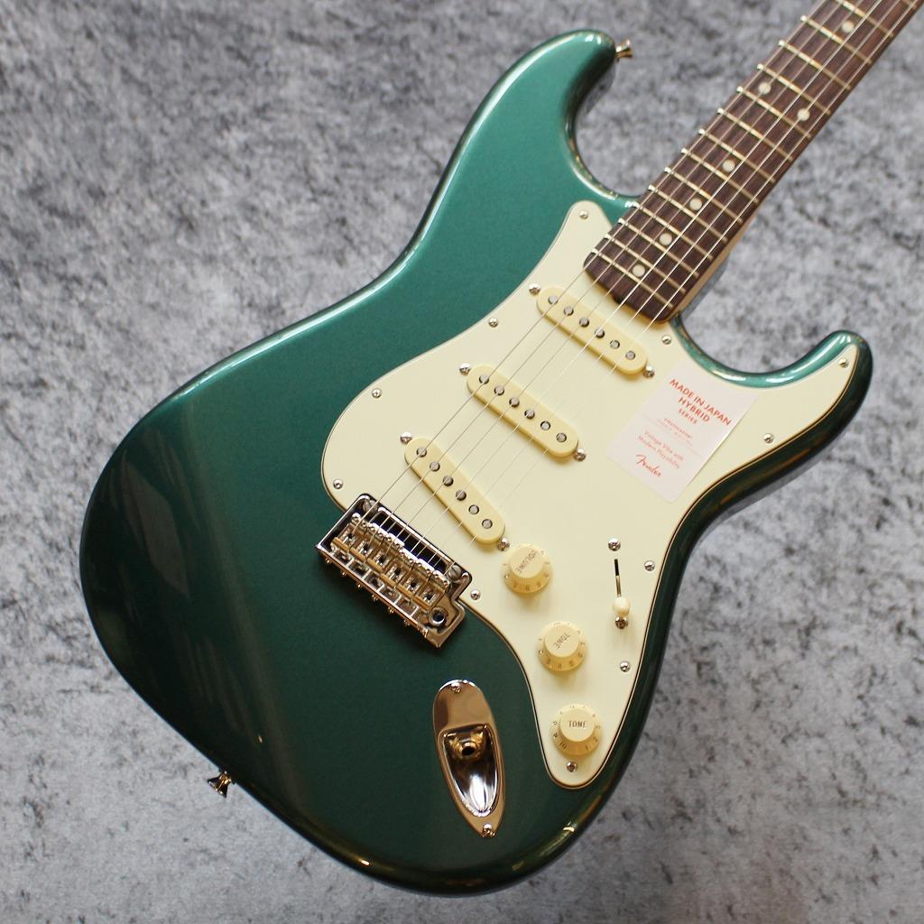 【池袋店】Fender Made In Japan Hybrid 60s Stratocaster Sherwood Green Metallic #JD20008598【3.61kg】【池袋店在庫品】