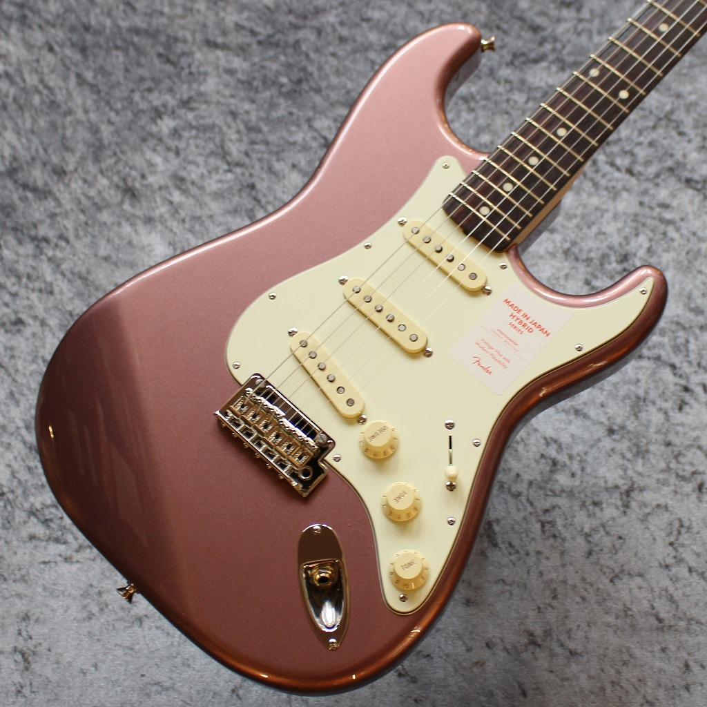 【池袋店】Fender Made In Japan Hybrid 60s Stratocaster Burgundy Mist Metallic #JD20006718【3.59kg】【池袋店在庫品】