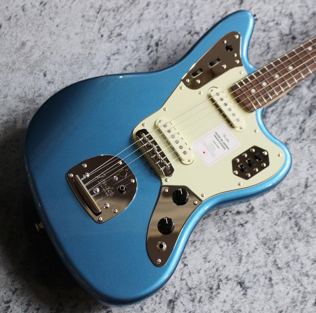 Fender【2020年最新スペック】Made in Japan Traditional 60s Jaguar Lake Placid Blue #JD20009703【3.60kg】【池袋店在庫品】