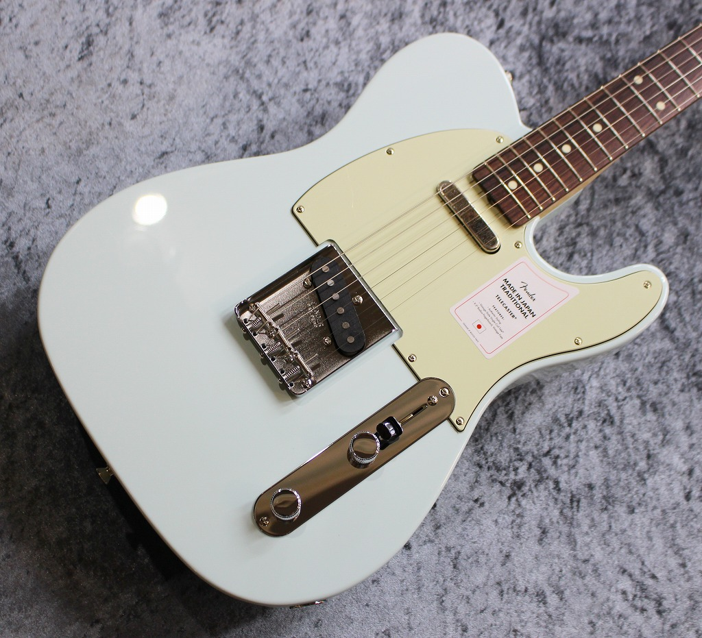 Fender【2020年最新】Made in Japan Traditional 60s Telecaster Sonic Blue #JD20007641【3.20kg】【池袋店在庫品】