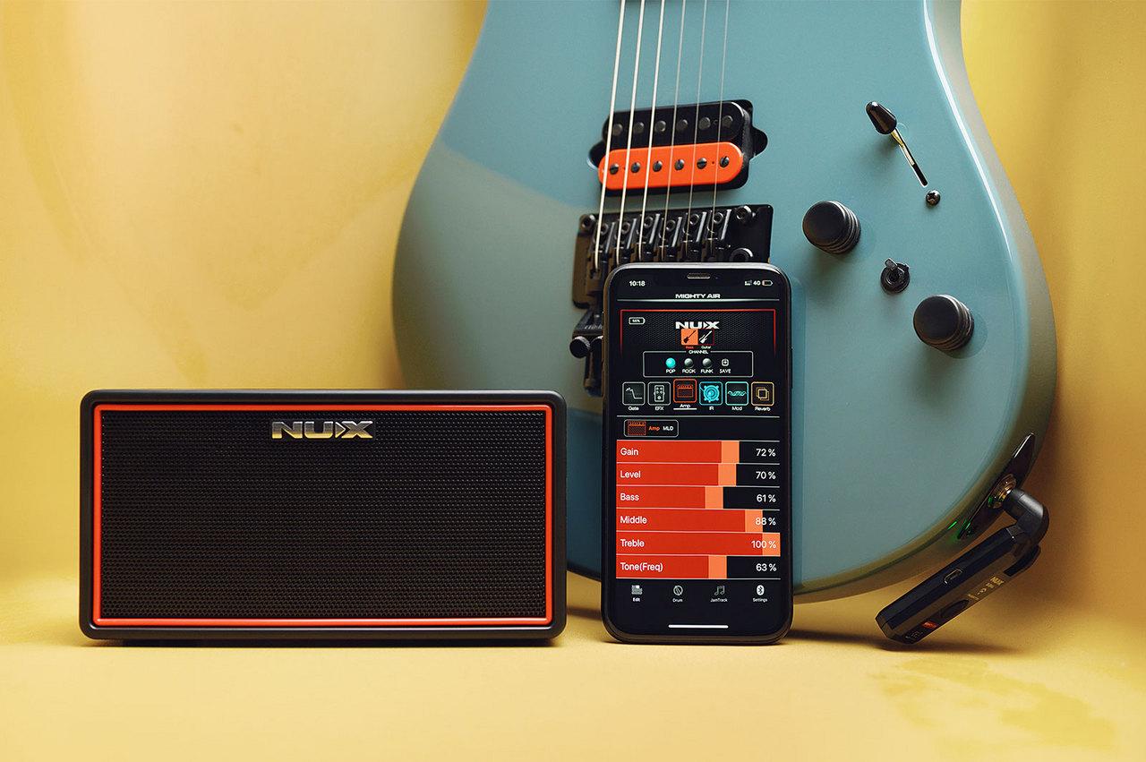 【池袋店】【新商品!!】 nux 【即納可能】 Mighty Air ~Wireless Stereo Modeling Amplifier~【ワイヤレス】【池袋店在庫品】