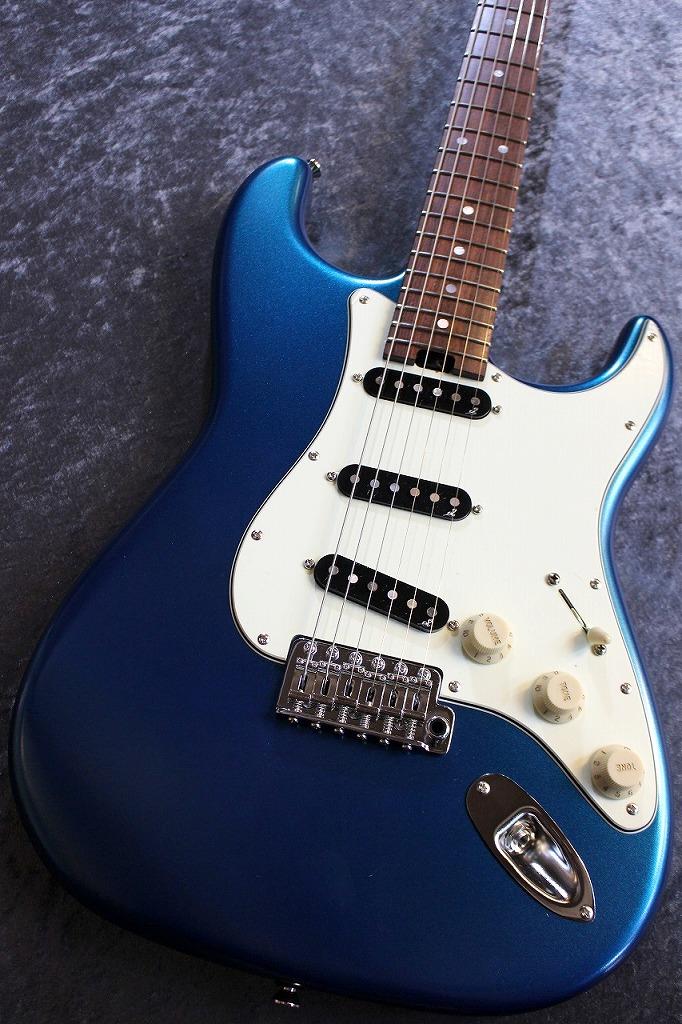 Sago Custom Order Classic Style-S Alder/Brazirian Rosewood FB Old Lake Placid Blue 【極音個体】 【爆鳴り個体】【現地選定材使用】【ハカランダ指板】【サーモネック】【池袋店在庫品】