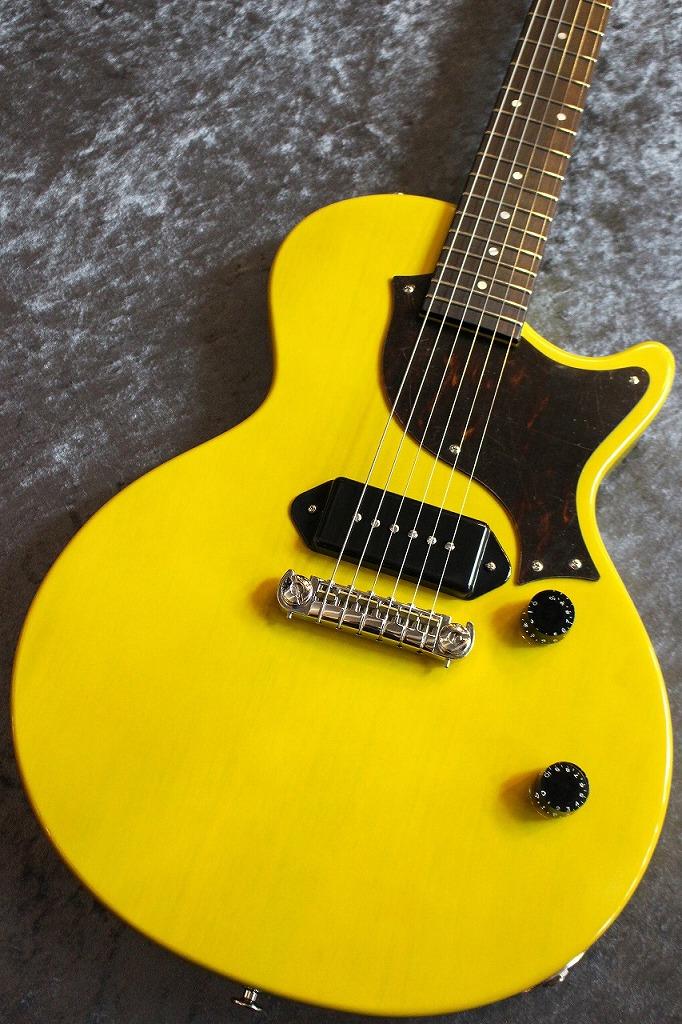 Kz Guitar Works Custom Order Kz One Solid P-90 Single Cut TV Yellow All Lacquer VOS #20190170 【ハカランダ指板】【ホンマホ1Pボディー】【担当選定材】【当店カスタムオーダー品】【良鳴り個体】【極杢個体】【池袋店在庫品】