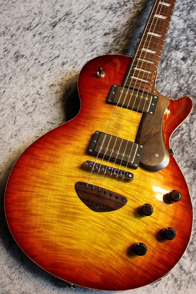 Bizen Custom Order Grain Arched Top Hard Rock Maple Top Jacaranda FB 1-Piece Cuban Mahogany Neck Shadow Burst #200593 【極音個体】【キューバンマホガニー】【ハカランダ】【担当現地選定材】【池袋店在庫品】