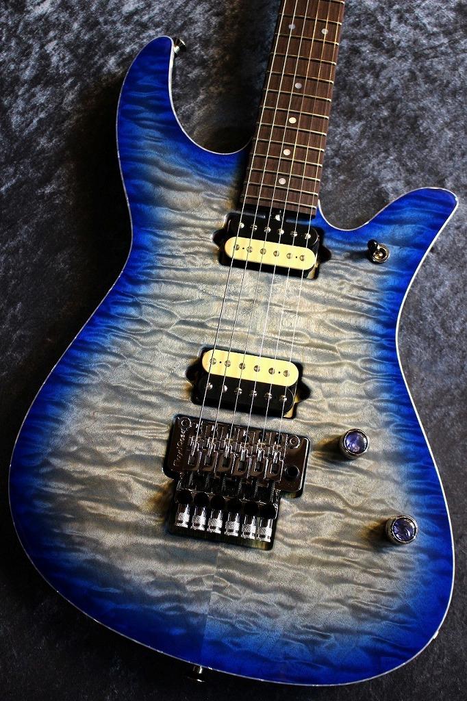 Crews Maniac Sound Kurosawa Custom Order Ab's 6st Aqua Blue #170473 【極杢トップ&極杢ネック】【当店担当カスタムオーダー品】【ハカランダ指板】【池袋店在庫品】