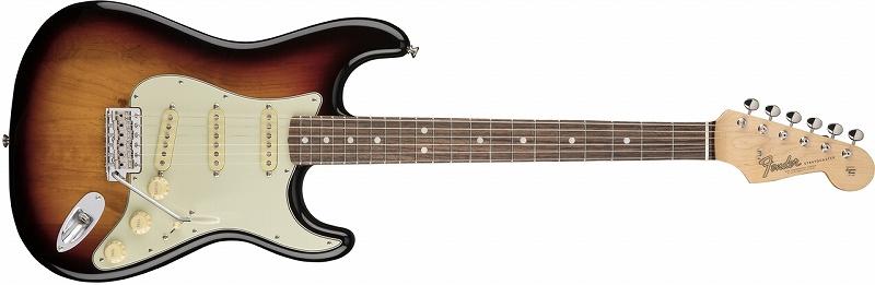 〔新品〕 Fender American Original '60s Stratocaster ~3-Color Sunburst~ 【お取り寄せ商品】【送料無料】【池袋店在庫品】〔フェンダー〕〔ストラトキャスター〕
