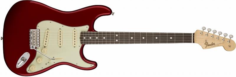 〔新品〕 Fender American Original '60s Stratocaster ~Candy Apple Red~ 【お取り寄せ商品】【送料無料】【池袋店在庫品】〔フェンダー〕〔ストラトキャスター〕