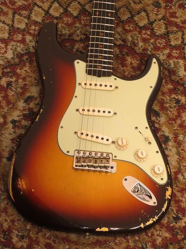 【中古】 Fender Custom Shop 2017 Custom Collection 1960 Stratocaster Relic【池袋店在庫品】〔フェンダー〕〔カスタムショップ〕〔ストラトキャスター〕【used_エレキギター】