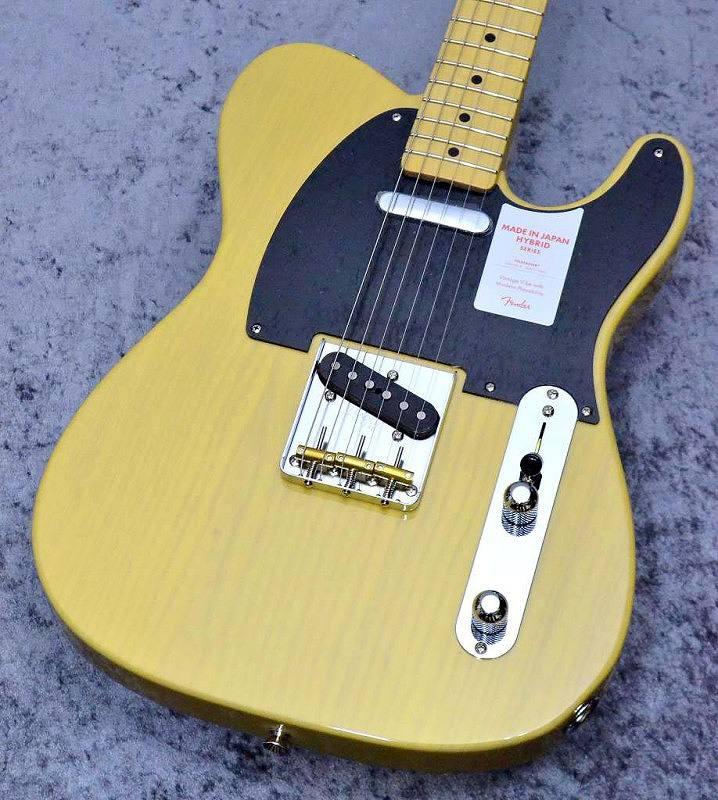 【新品】Fender Made in Japan MIJ Hybrid 50s Telecaster Off-White Blond【池袋店在庫品】