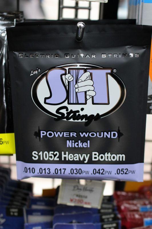安値 エレキギター弦 《エスアイティー 》 SIT S1052 HEAVY BOTTOM SHOP 新品 WEB特価 10-52 クロサワ楽器池袋店WEB 《エレキギター弦》 供え