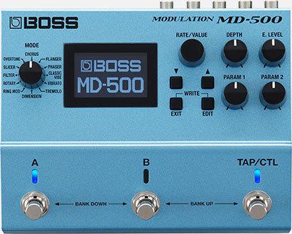 BOSS MD-500 Modulation 【初回分予約受付中】【7月8日発売予定】【送料無料】 【新品】【池袋店在庫品】