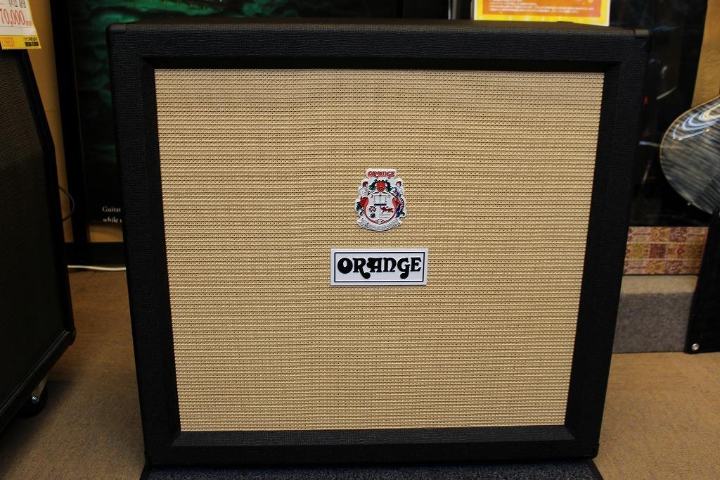 ORANGE PPC412 Cabinet Black 【送料無料】【Made in UK】 【新品】【池袋店在庫品】