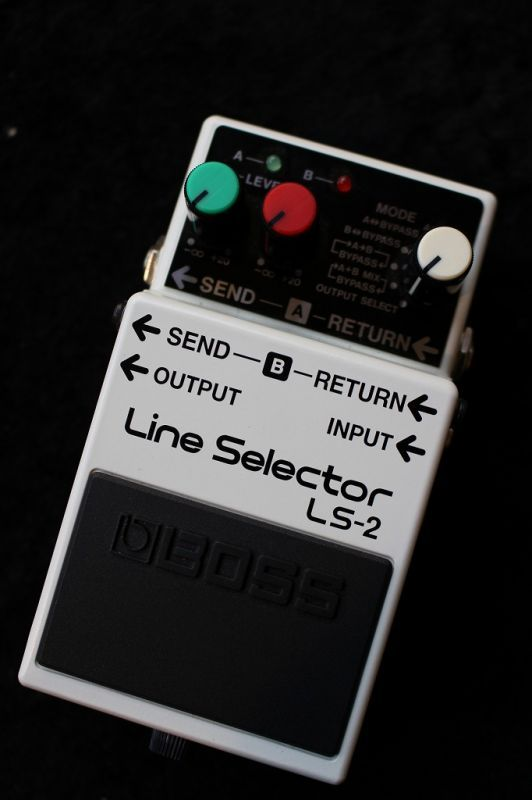 BOSS Line Selecter LS-2 【即納可能】【送料無料】 【新品】【池袋店在庫品】