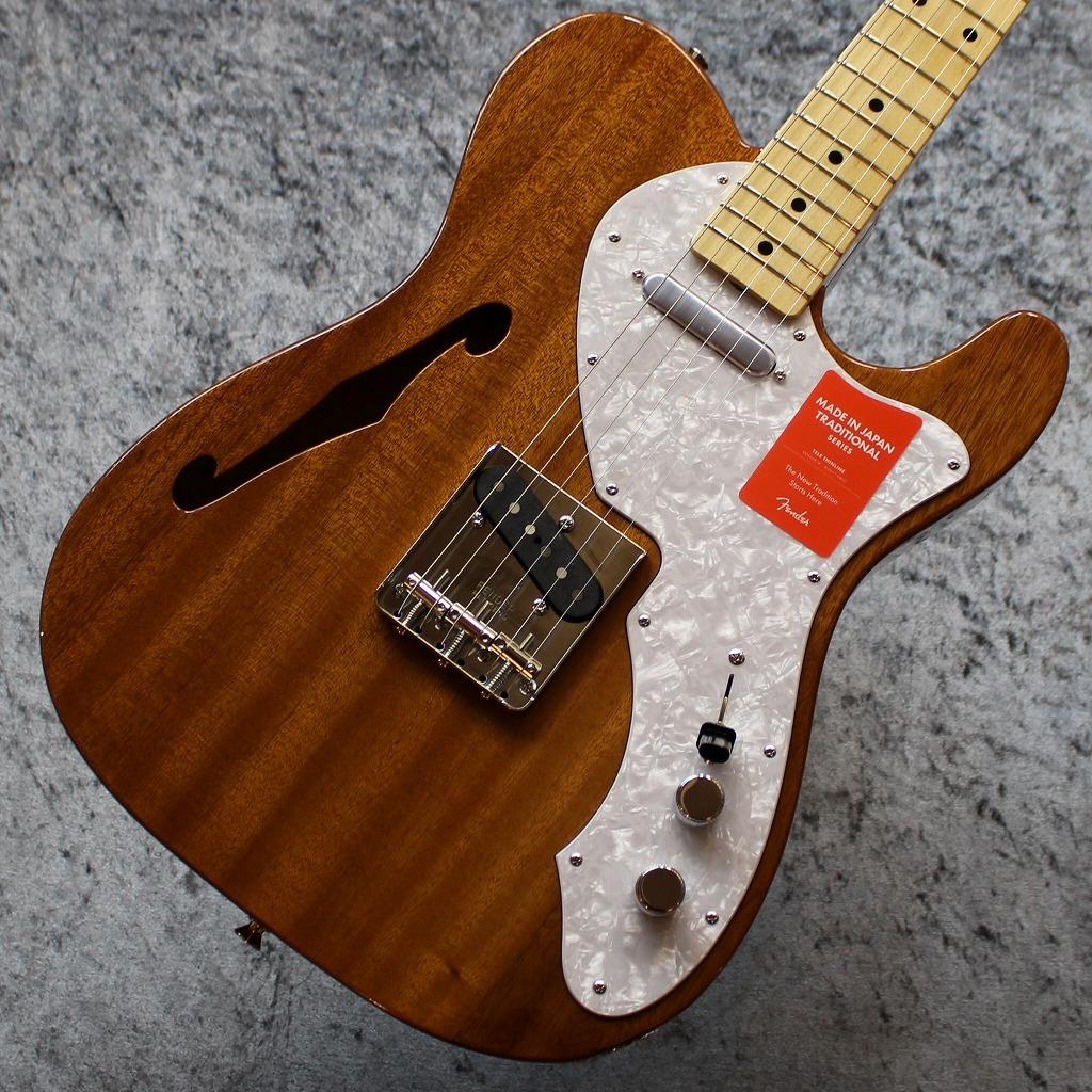 【池袋店】Fender Made in Japan Traditional 69 Telecaster Thinline / Natural #JD19018581【3.04kg】【送料無料】【池袋店在庫品】