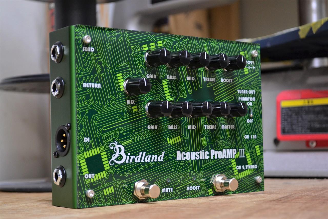 デュアルピックアップ用アコースティックDI登場! Birdland Acoustic Preamp 3《アコースティックギター用プリアンプ/DI》 【送料無料】 【新品】【池袋店WEB SHOP】