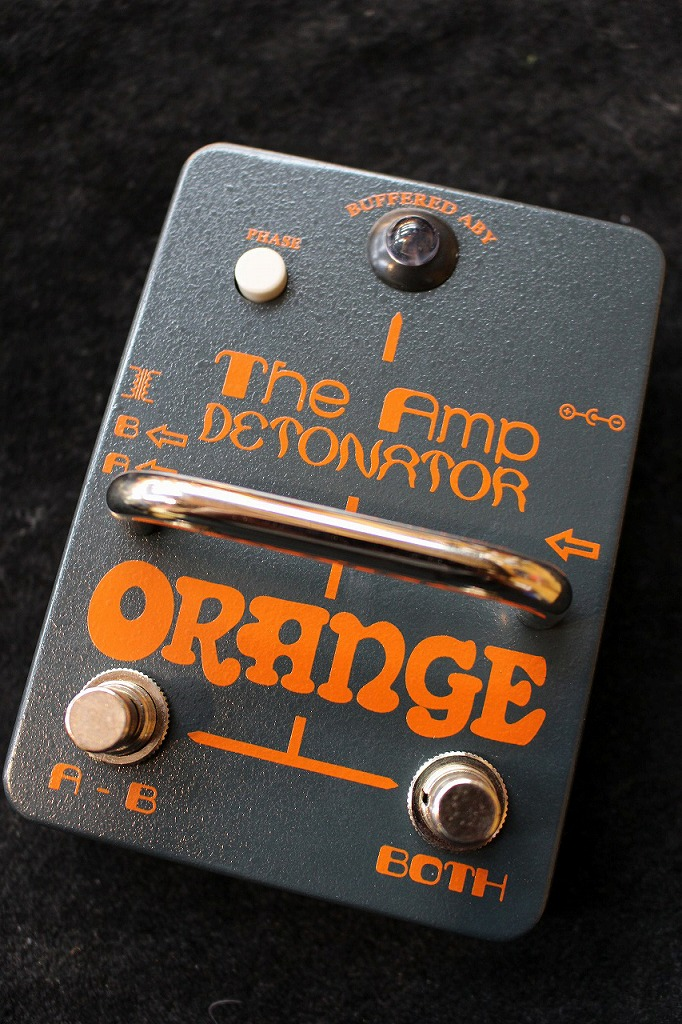 ORANGE Amp Detonator Buffered AB-Y switcher pedal 【送料無料】【即納可能】【バッファー搭載】 【新品】【池袋店在庫品】
